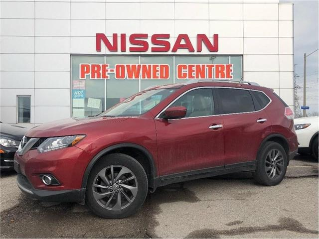 2016 Nissan Rogue SL-AWD-TECH-NAVIGATION -SUNROOF (Stk: U3033) in Scarborough - Image 1 of 21