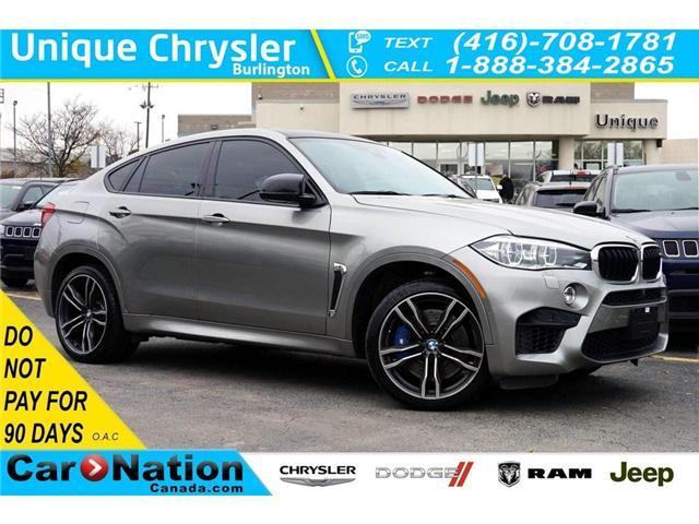 2017 BMW X6 M PREMIUM| MULTIFUNCTION SEATS| PARK DISTANCE (Stk: P3144) in Burlington - Image 1 of 49