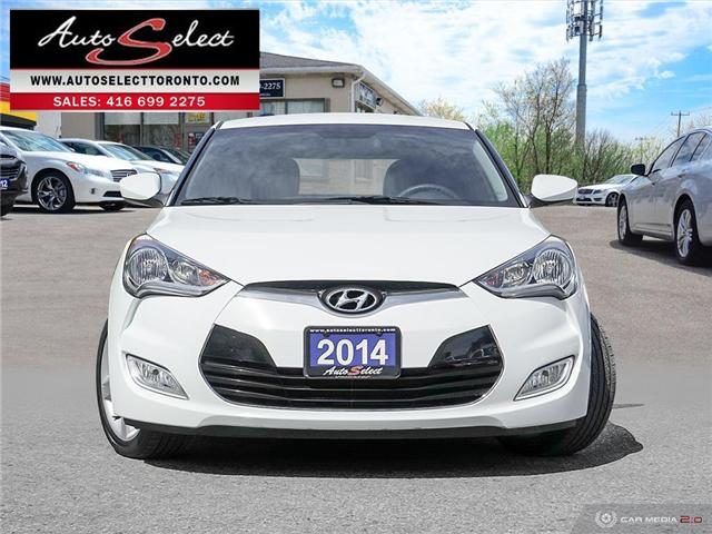 2014 Hyundai Veloster  (Stk: 14HVN64) in Scarborough - Image 2 of 28