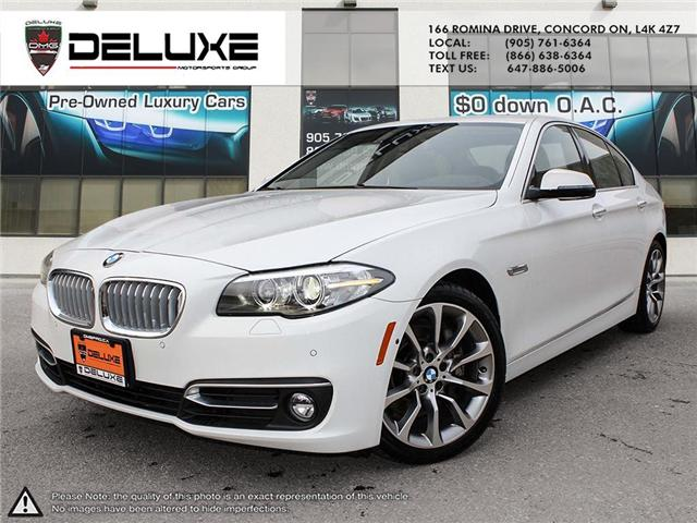 2014 BMW 535i xDrive (Stk: D0545) in Concord - Image 1 of 21