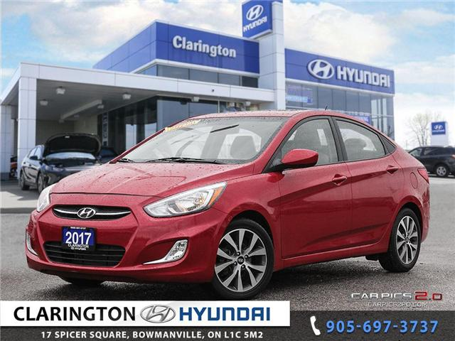 2017 Hyundai Accent SE (Stk: U840) in Clarington - Image 1 of 27