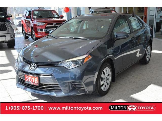 2016 Toyota Corolla  (Stk: 576036) in Milton - Image 1 of 38