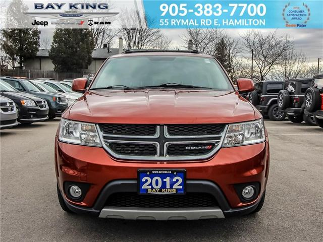 2012 Dodge Journey SXT & Crew (Stk: 6659A) in Hamilton - Image 2 of 22