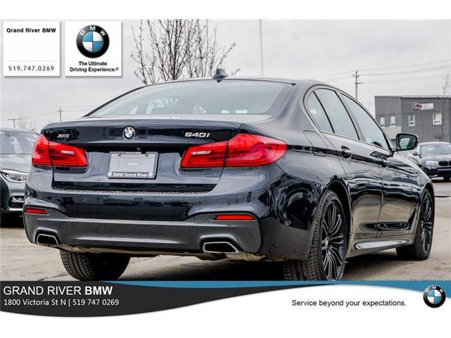 2018 BMW 540i xDrive (Stk: PW4779) in Kitchener - Image 7 of 22