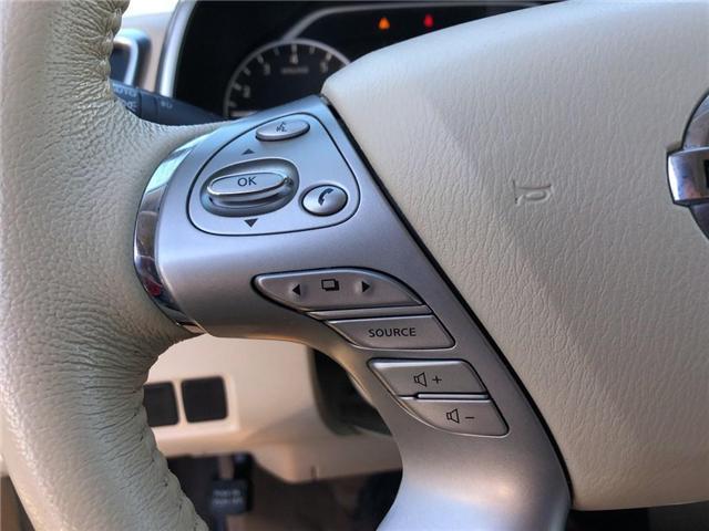 2016 Nissan Murano SL (Stk: P2574) in Cambridge - Image 17 of 29