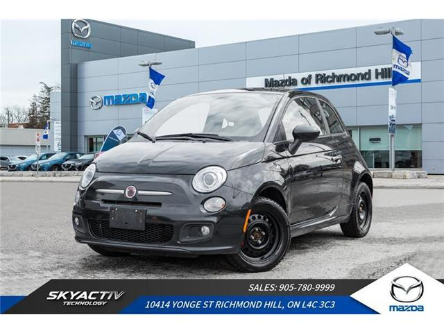 2012 Fiat 500 Sport (Stk: P0372A) in Richmond Hill - Image 1 of 16
