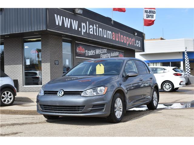 2015 Volkswagen Golf 1.8 TSI Trendline (Stk: pp411) in Saskatoon - Image 1 of 20