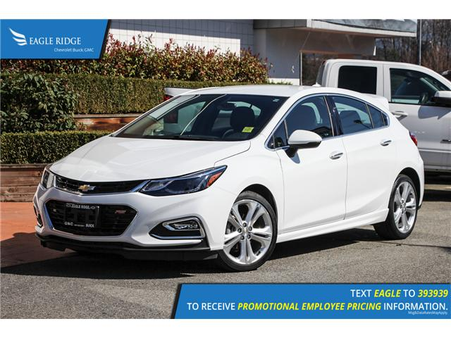 2018 Chevrolet Cruze Premier Auto (Stk: 189565) in Coquitlam - Image 1 of 16