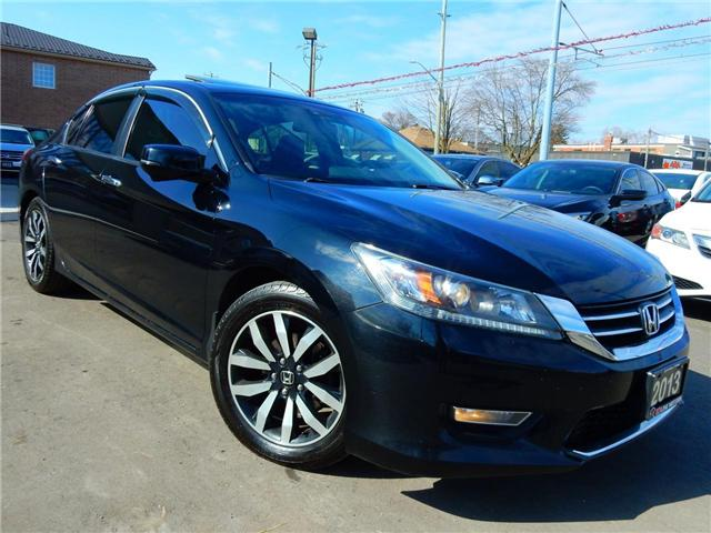 2013 Honda Accord EX-L (Stk: 1HGCR2) in Kitchener - Image 1 of 27
