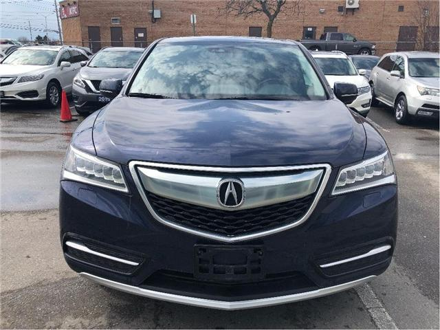 2016 Acura MDX Technology Package (Stk: 501926T) in Brampton - Image 2 of 12