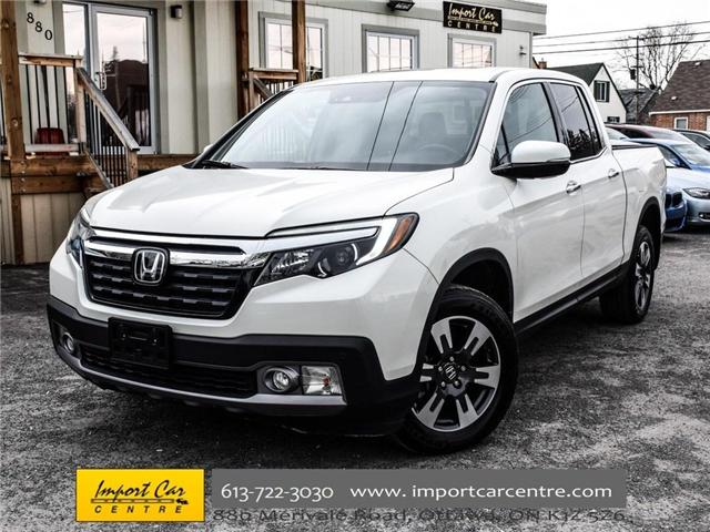 2017 Honda Ridgeline Touring (Stk: 505163) in Ottawa - Image 1 of 30