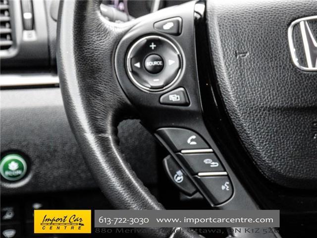 2017 Honda Ridgeline Touring (Stk: 505163) in Ottawa - Image 19 of 30