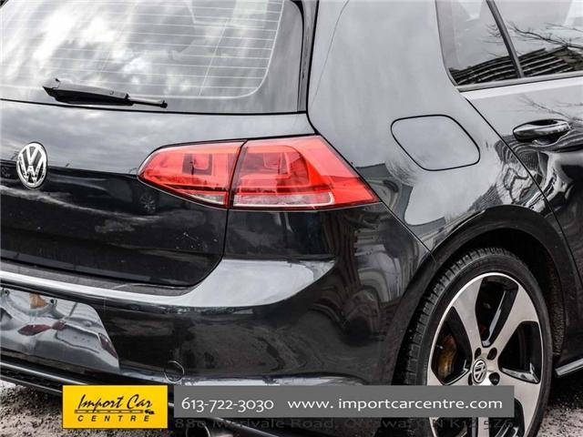2015 Volkswagen Golf GTI 5-Door Autobahn (Stk: 001778) in Ottawa - Image 9 of 30