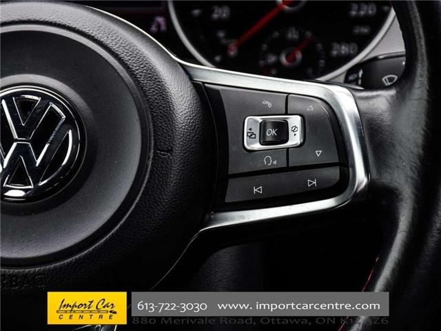 2015 Volkswagen Golf GTI 5-Door Autobahn (Stk: 001778) in Ottawa - Image 20 of 30