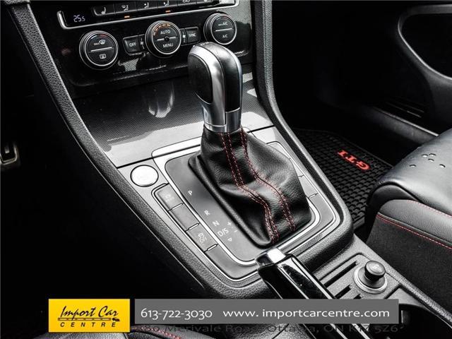 2015 Volkswagen Golf GTI 5-Door Autobahn (Stk: 001778) in Ottawa - Image 29 of 30