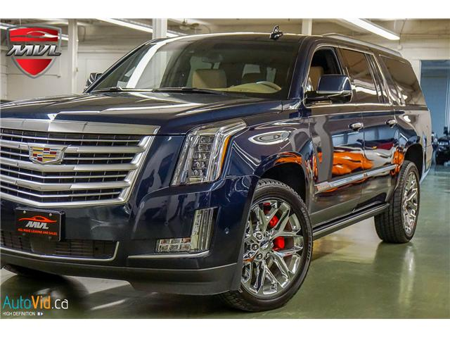 2018 Cadillac Escalade ESV Platinum (Stk: ) in Oakville - Image 1 of 44
