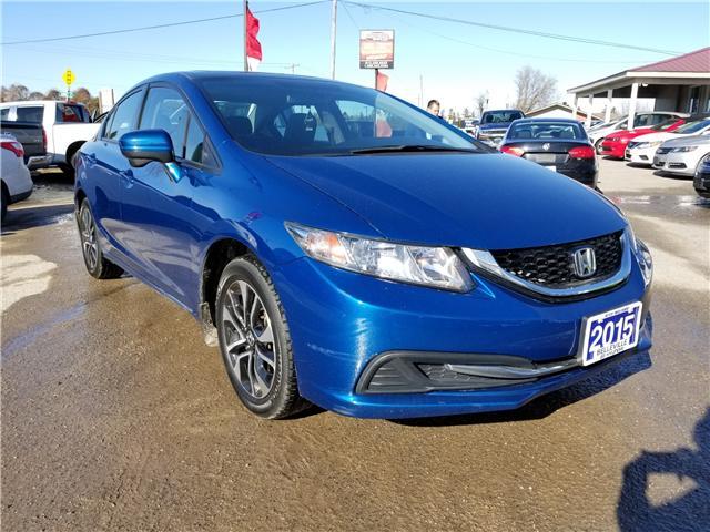 2015 Honda Civic EX (Stk: ) in Kemptville - Image 1 of 19