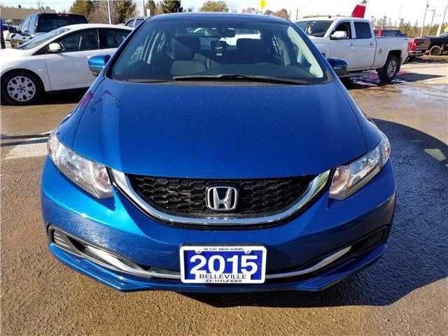 2015 Honda Civic EX (Stk: ) in Kemptville - Image 2 of 19