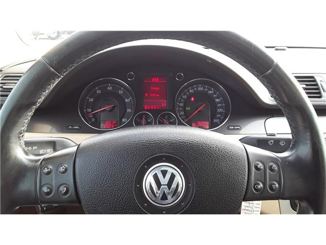 2006 Volkswagen Passat 3.6 (Stk: P423) in Brandon - Image 10 of 12