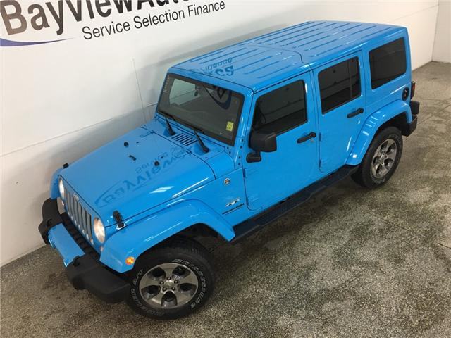 2018 Jeep Wrangler JK Unlimited Sahara (Stk: 34676W) in Belleville - Image 2 of 27