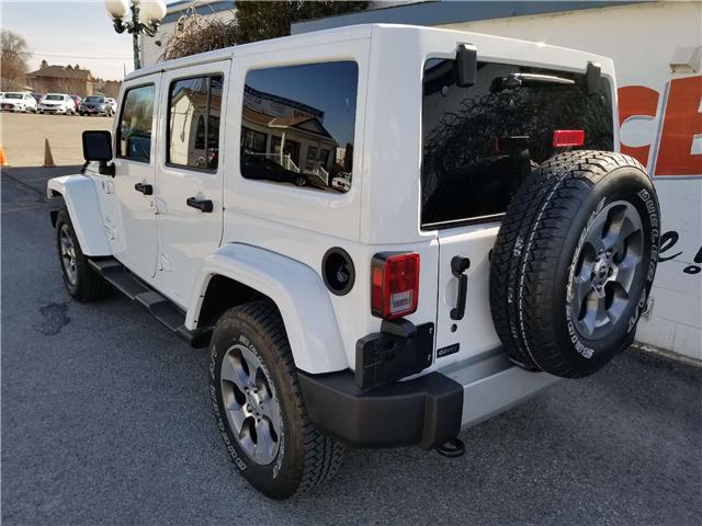 2018 Jeep Wrangler JK Unlimited Sahara (Stk: 19-202A) in Oshawa - Image 5 of 13