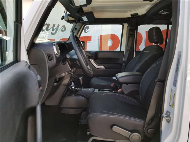2018 Jeep Wrangler JK Unlimited Sahara (Stk: 19-202A) in Oshawa - Image 8 of 13