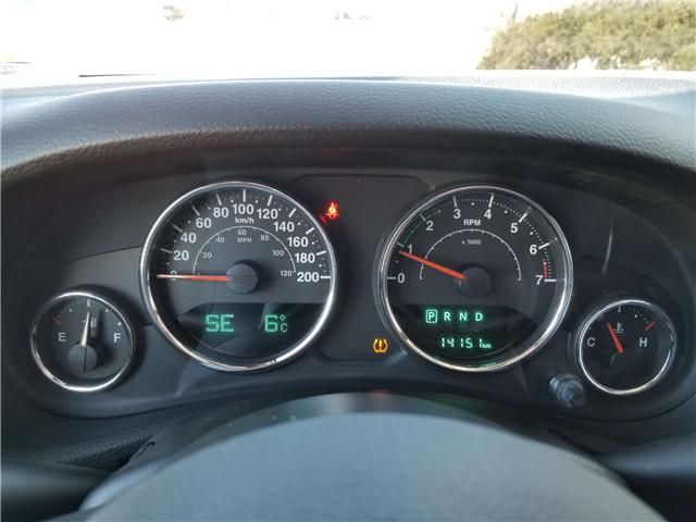 2018 Jeep Wrangler JK Unlimited Sahara (Stk: 19-202A) in Oshawa - Image 12 of 13