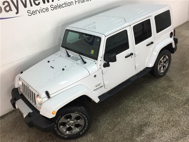 2018 Jeep Wrangler JK Unlimited Sahara (Stk: 34698W) in Belleville - Image 2 of 24