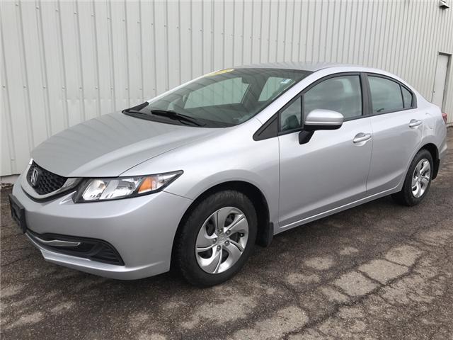 2015 Honda Civic LX (Stk: U3389) in Charlottetown - Image 1 of 11