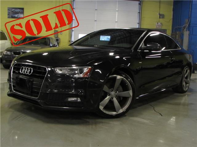 2013 Audi A5 2.0T (Stk: C5523) in North York - Image 1 of 21