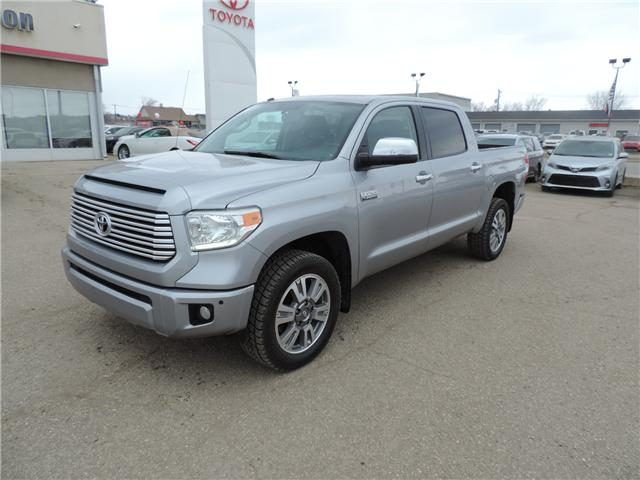 2017 Toyota Tundra Platinum 5.7L V8 (Stk: 20101) in Brandon - Image 2 of 23