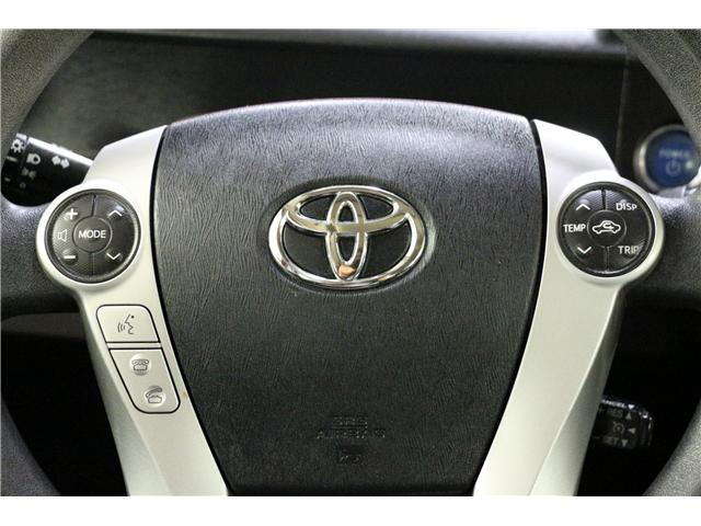 2013 Toyota Prius C  (Stk: JT123C) in Rocky Mountain House - Image 19 of 22