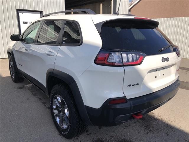 2019 Jeep Cherokee Trailhawk (Stk: 14682) in Fort Macleod - Image 3 of 21