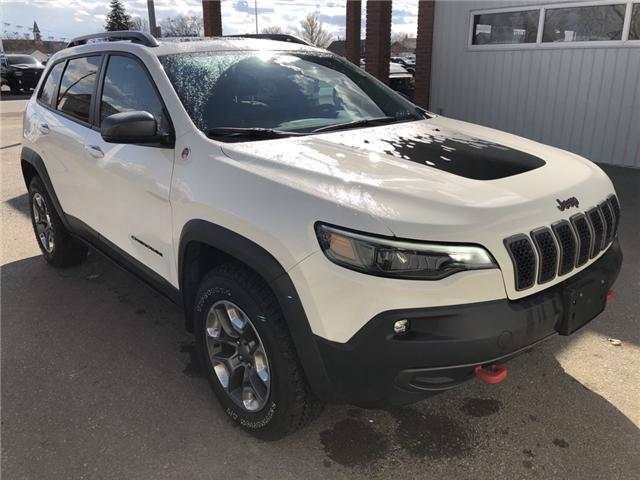 2019 Jeep Cherokee Trailhawk (Stk: 14682) in Fort Macleod - Image 8 of 21
