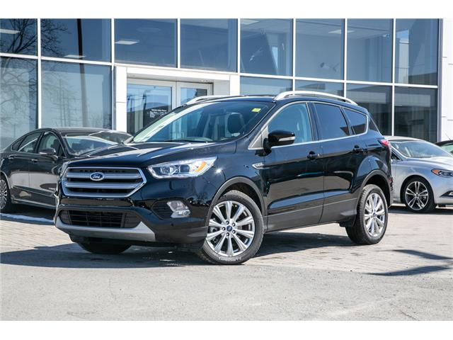 2018 Ford Escape TITANIUM AWD-LEATHER-NAV-SALE PRICED (Stk: 948230) in Ottawa - Image 1 of 30