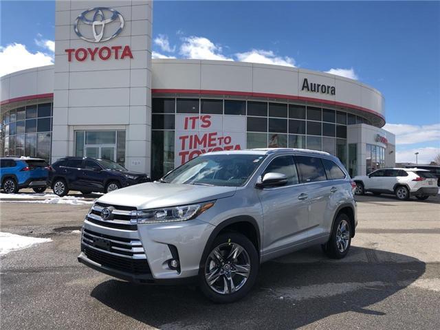 2019 Toyota Highlander Limited (Stk: 30771) in Aurora - Image 1 of 15