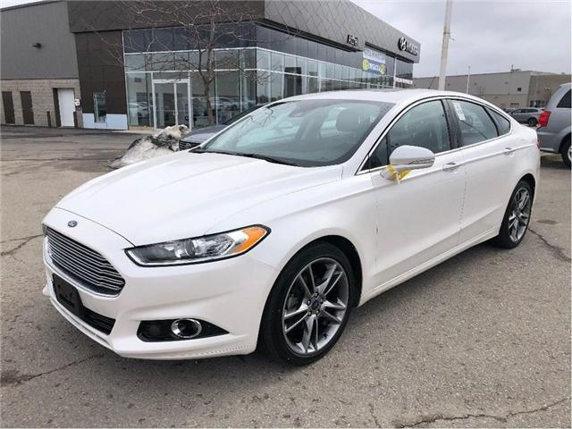 2016 Ford Fusion Titanium (Stk: 3978) in Brampton - Image 1 of 19