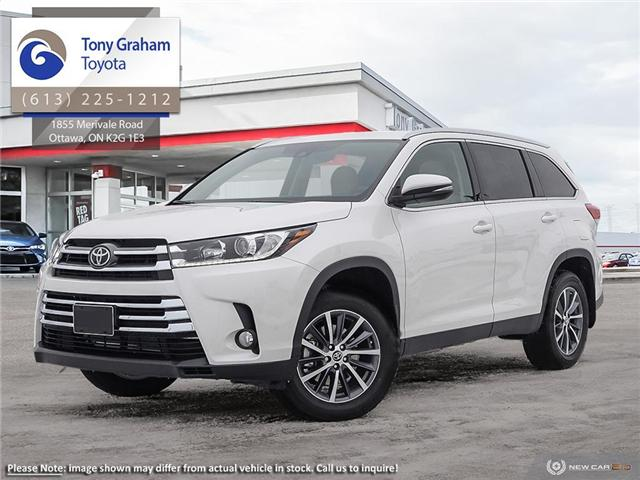 2019 Toyota Highlander XLE AWD SE Package (Stk: 58035) in Ottawa - Image 1 of 23