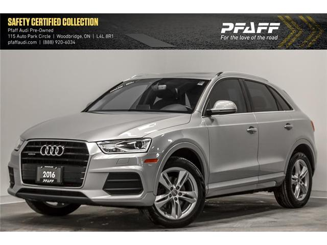 2016 Audi Q3 2.0T Progressiv (Stk: C6544) in Vaughan - Image 1 of 21
