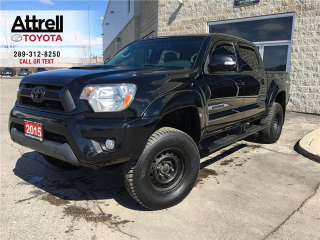 2015 Toyota Tacoma DOUBLE CAB 4X4 TRD SPORT MANUAL ALLOY, FOG, BACK C (Stk: 43713A) in Brampton - Image 1 of 25