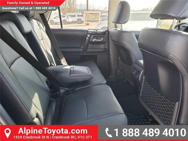 2019 Toyota 4Runner SR5 (Stk: 5675010) in Cranbrook - Image 17 of 18