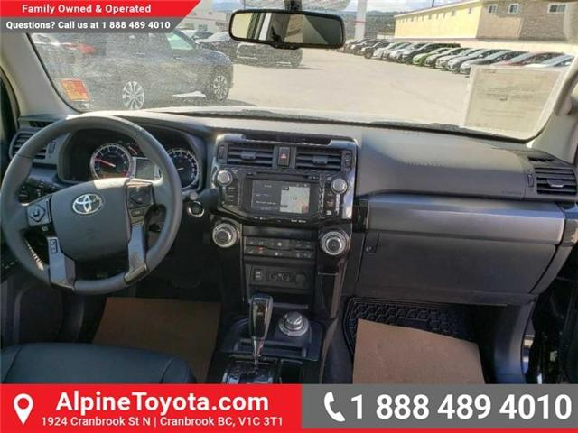 2019 Toyota 4Runner SR5 (Stk: 5675010) in Cranbrook - Image 10 of 18