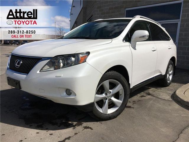 2010 Lexus RX 350 AWD ALLOYS, FOG LAMPS, ROOF RAILS, PUSH BUTTON STA (Stk: 43602B) in Brampton - Image 1 of 25