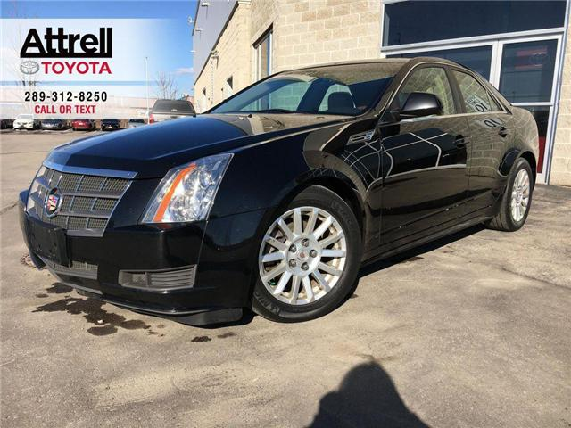 2010 Cadillac CTS SEDAN AWD LEATHER HEATED SEAT, PANO SUNROOF, ALLOY WHEEL (Stk: 43843A) in Brampton - Image 1 of 25