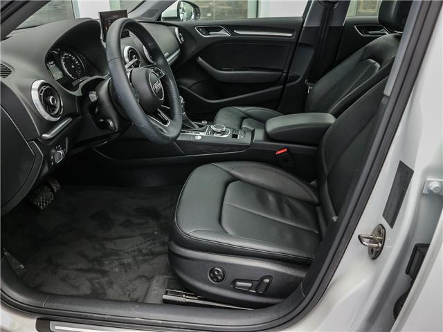 2018 Audi A3 2.0T Progressiv (Stk: P3105) in Toronto - Image 10 of 30
