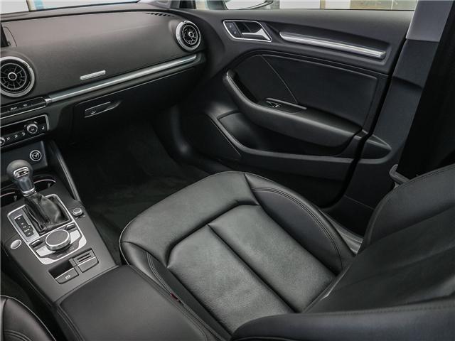 2018 Audi A3 2.0T Progressiv (Stk: P3105) in Toronto - Image 14 of 30
