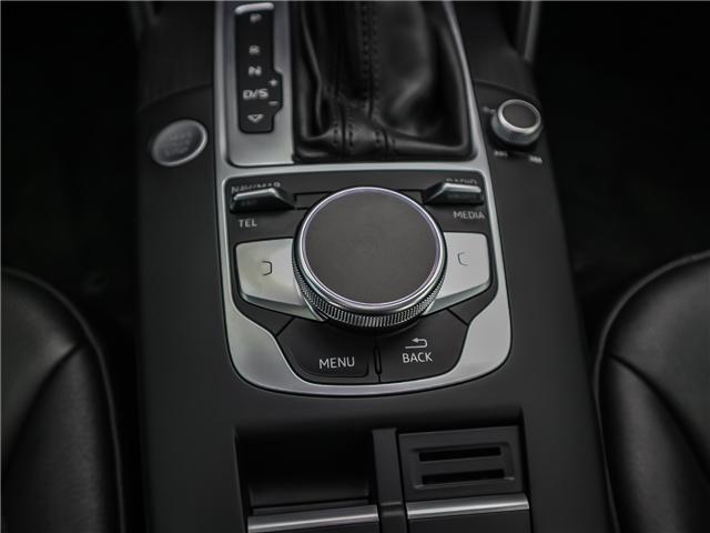 2018 Audi A3 2.0T Progressiv (Stk: P3105) in Toronto - Image 15 of 30