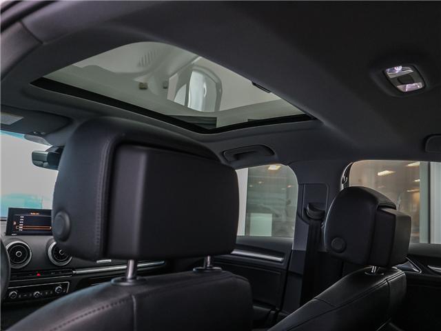 2018 Audi A3 2.0T Progressiv (Stk: P3105) in Toronto - Image 18 of 30