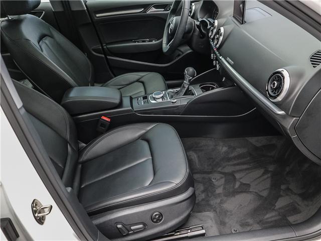 2018 Audi A3 2.0T Progressiv (Stk: P3105) in Toronto - Image 19 of 30