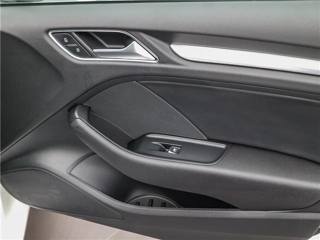2018 Audi A3 2.0T Progressiv (Stk: P3105) in Toronto - Image 20 of 30
